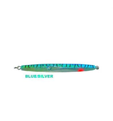 ARTIFICIALE VERTICAL JIGGING 200g 18cm BLUESILVER PER DENTICI RICCIOLE PARAGHI