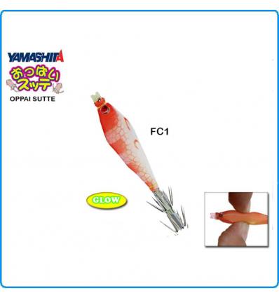 OPPAI YAKO YAMASHITA LOS72 COLORE FC1 GLOW TATAKI FISHING CALAMARO TOTANI SEPPIE