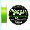 DYNEEMA SUPER PE SUNLINE 15lb 0.205mm 150mt kg7.5 color Green SPINNING BOLENTINO