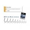 AMI TRACK LINE M70 BLACK NICHEL OCCHIELLO N12 CONFEZIONE 10PZ MADE IN JAPAN