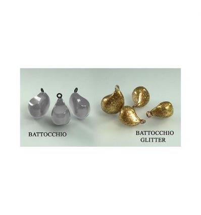 BATTOCCHIO SEASPIN PER PERSUADER PENDOLINO COLORE GOLD GLITTER 1.5g CONF 3PZ