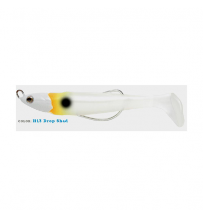 ARTIFICIALE LIMBER KEEL ACQUAWAVE 120mm 28g COLORE H13 DROP SHAD