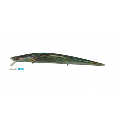 ARTIFICIALE JATSUI SW LL MINNOW 180F FLOATING 180mm 26g NATURAL COLOR NC02