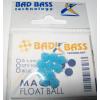ATTRATTORI BAD BASS MAGIC FLOAT BALL COLORE BLUE 4mm PER TERMINALI CONF 10PZ