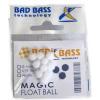 ATTRATTORI BAD BASS MAGIC FLOAT BALL COLORE WHITE 4mm PER TERMINALI CONF 10PZ