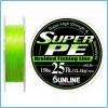 DYNEEMA SUPER PE SUNLINE 50lb 0.37mm 300mt KG25 color Green MADE IN JAPAN