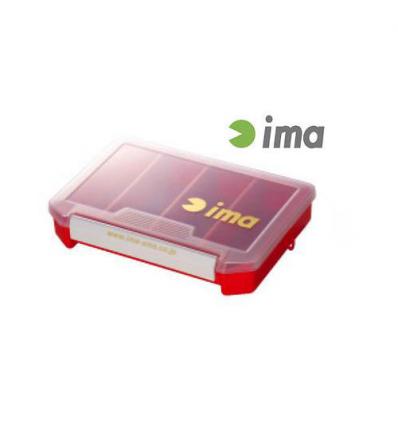 IMA LURE CASE 205 x145 x 40mm COLORE RED SCATOLETTE PORTA ARTIFICIALI